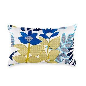 Trina Turk Embroidered Lumbar Pillow